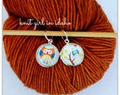 Whimsical Owls Stitch Markers (Set of 2)