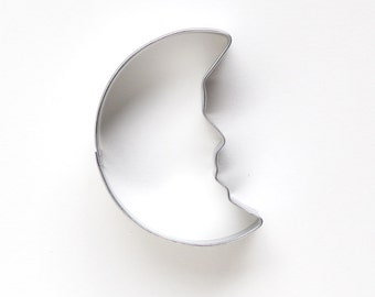Moon Cookie Cutter, Crescent Moon Cookie Cutter, Outer Space Birthday Party, Astronaut Party