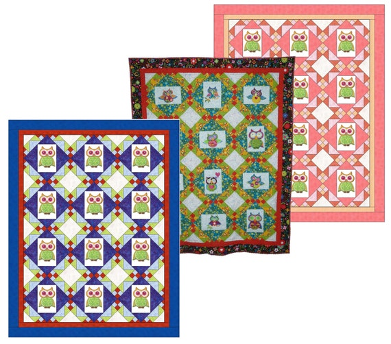 Embroidery Frames Quilt Pattern PDF