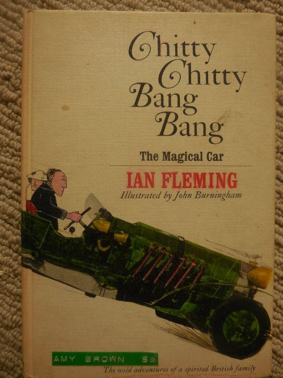 IAN FLEMING CHITTY CHITTY BANG BANG - STATED 1ST PRINTING 1964 w/DJ NPC N-FINE