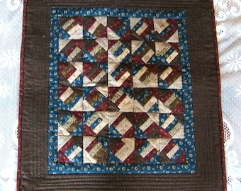 Hard Crackers  Wall Hanging or Table Topper With a Brown Border (Item # 98)