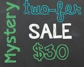Mystery Two-fer Sale