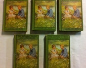 Set of Five Vintage Bobbsey Twin Books