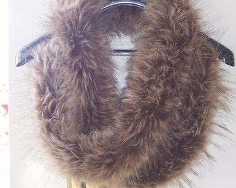 "Fabulous Fox Faux Fur 65"" Long Scarf"