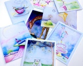 Pick your perfect Set - Choose any 5 note cards and get 1 FREE