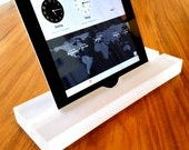 iPad Pro Stand, Groove-Frosted Ice, Modern Minimalism at its Best