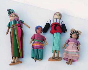 Vintage Handmade Souvenir Dolls