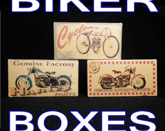 Motorcycle Parts Boxes