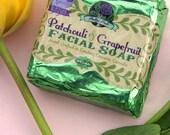 Patchouli and Grapefruit Essential Oil Facial Soap