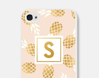 iPhone 6 Case Pineapple iPhone 6s Case iPhone SE Case Monogram Samsung Galaxy S7 Case Pineapple iPhone 6 Plus Case Pineapple iPhone 5 Case