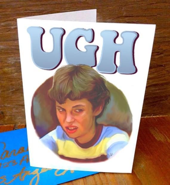 Freaks and Geeks -Handmade Designed Greeting Birthday Card