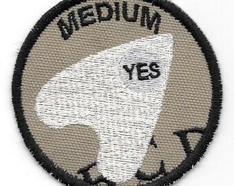 Medium Geek Merit Badge Patch