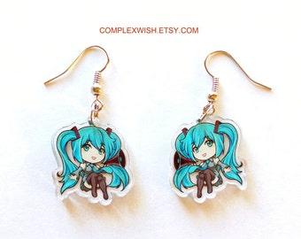 Miku earrings