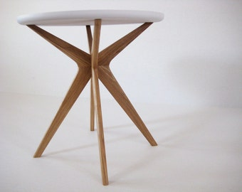 NEW! Mid century modern side table