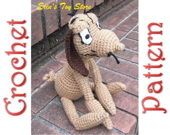 Max the Dog A Crochet Pattern by Erin Scull