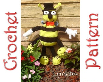 Mr. Stinger a Crochet Pattern by Erin Scull