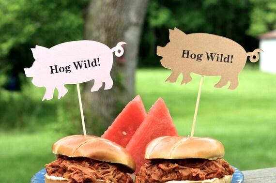 Pig BBQ Skewers