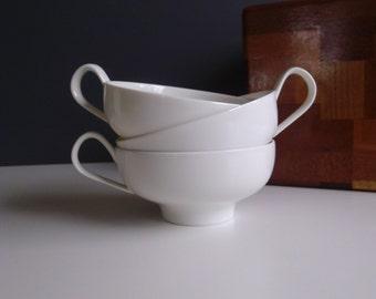 Iroquios China Inheritance Sheer White Cups Ben Seibel