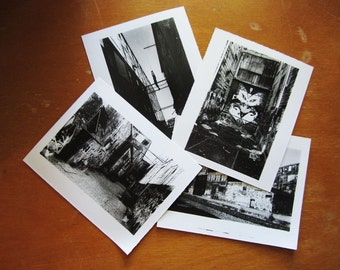 All Four East Van Prints - Hand Printed Silver Gelatin Photographs