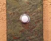 No. 210 - 214 - Slate doorbell - Stone doorbell button