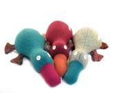 Stuffed Animal - Platypus - Surprise Me - Bedtime Companion - Cute Plush Toy