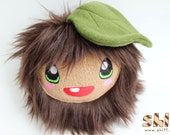 Leaf Kid Handmade Kawaii Monster Plush Toy
