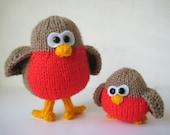 Rockin' Robins toy knitting patterns