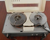 Tempest Transistor tape recorder reel to reel from the 1960s