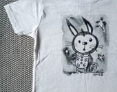 5/6T Toddler T-shirt. Bedtime Bunny by JoAnn Houle.