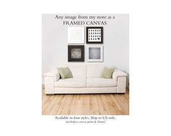 Framed Canvas, Framed Wall Art, Framed Fine Art Canvas, Wall Art Decor with Frame, Framed Canvas Artwork, Decorative Artwork, Framed Canvas