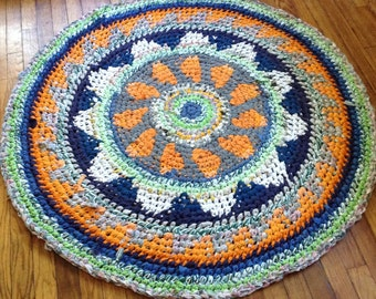 Marrygold Fair Isle Rag Rug