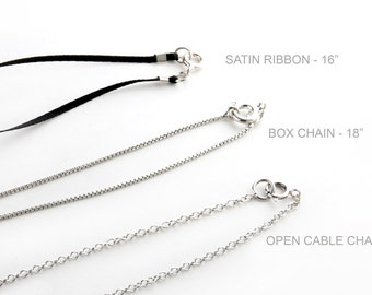 Necklace Chains for Pendants