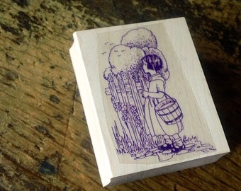 Rubber Stamp for Card Making, Scrapbooking