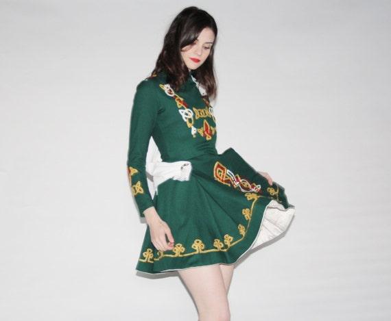 Vintage 1970s Irish Dance Costume Irish Dance Dress