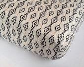 Tribal Baby Bedding - Aztec Crib Sheets / Black Neutral Nursery / Changing Pad Covers or Standard and Mini Crib Sheets / Etsy Nursery
