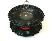 2 Tier Vinyl Record Album Cake Stand - Custom You Choose Artist(s) Made To Order