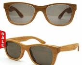 TAKEMOTO bamboo handmade MJX1055 wayfarer sunglasses