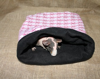 MEDIUM LARGE breast cancer awareness pouch for small pets.
