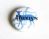 Harry Potter Buttons Geeky Pinback Buttons Blue Accessories Small Pins Severus Snape Deer Always