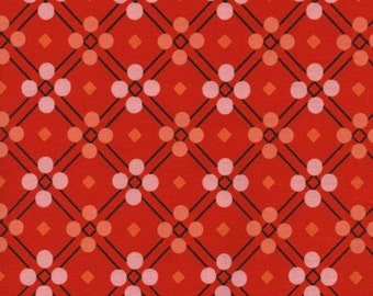 SALE picnic blanket in red from the Picnic collection by Melody Miller for Cotton + Steel
