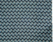 Richmond geometric blue black DS Quilts Denyse Schmidt fabric  FQ or more