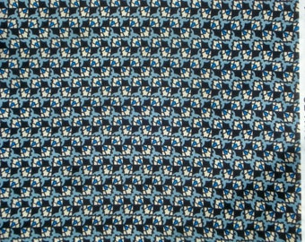 Richmond geometric blue black DS Quilts Denyse Schmidt fabric  FQ or more