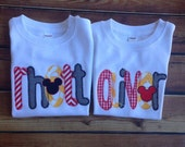 Appliqued Mouse Name Shirt
