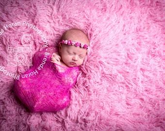 Newborn Mohair Wrap -  Newborn  Wrap  - Newborn Knitted Mohair Wrap - Newborn Photography Props