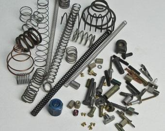 Mixed Metal Supplies Assembler Crafter Metal Salvage 71 Pieces