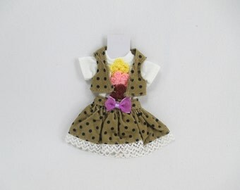 Outfit costume dress for Blythe doll 830-30