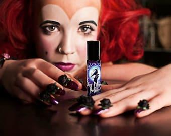 Lilith Dreaming Perfume Oil - Champaka blossoms, teakwood, poppies, pink peppercorn, vanilla, patchouli - Supernatural