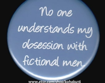 Fictional Obsession Button