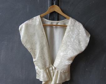 Silk Cardigan Small