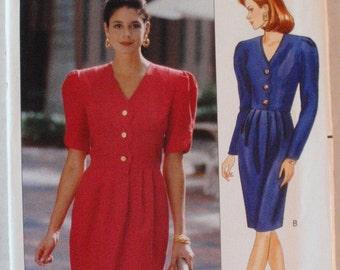 Leslie Fay Dress Pattern - Butterick 4697 - Sizes 20-22-24, Bust 42 - 46, Uncut